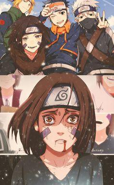 Rin, Obito, Kakashi e Minato