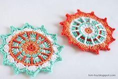 Ravelry: Spiked Mandala pattern by Olga Loginova
