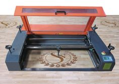 Gantry-style Laser Cuts and Engraves Large Objects, Even Caskets