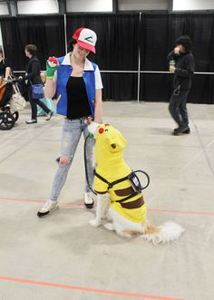 squirtleisthebest: Ash and Pikachu!SOURCE #anime #cosplay #costume #otaku #gamer #videogames