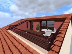 Quoi de plus agréable que de profiter du soleil sur sa terrasse ? Installée dans vos combles, elle prend ainsi de la hauteur et vous offrira encore plus de plaisir. C'estun aménagement extér…