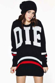 UNIF Die Poser Sweater