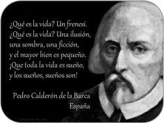 Hombres Celebres: CALDERÓN DE LA BARCA - ESPAÑA