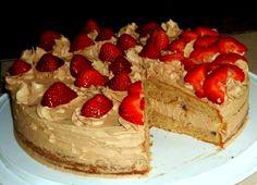 Cokoladna torta sa jagodama