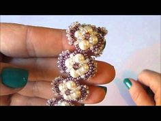 Bracciale Hindia by Heather Collin.No tut but hopefully could figure it out
