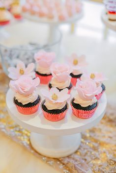 Pink And Gold Birthday Party, Birthday Parties, Dessert Tables, Swan, Ph, Desserts, Wonderland, Cakes, Food