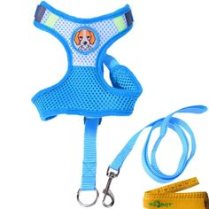 Mesh Dog Cat Pet Vest Harness and Matching Leash Set for Small Dogs Cats Pets -- Learn more by visiting the image link. (This is an affiliate link and I receive a commission for the sales)