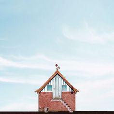 """Arte e Arquitetura: """"Casas Solitárias"""" por Sejkko"""