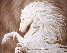 My horse totem by A.Andrew Gonzalez