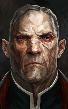 Dishonored : les personnages                                                                                                                                                                                 More Cthulhu, Character Concept, Character Art, Concept Art, Fantasy Rpg, Dark Fantasy, Dnd Characters, Fantasy Characters, Vampires