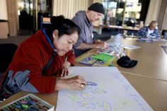 Santa Rosa library offering art workshops to homeless | The Press Democrat