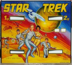 Star Trek was a pretty ordinary machine to play, but the art work was great