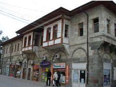Former municipality building-Stone building-Eski belediye binası-Taş bina-Cobstructive: Boynukalın Haji Ali Aga-Built year: 1891-Architect: Molla Usta-Restore: Municipality-Restore year: 2013&2015-Karaman (It is used as a Tourism Center after restoration)