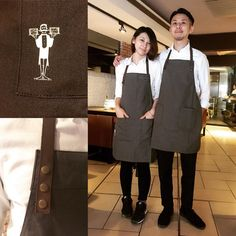#Baffi #uniform #team #staff #waiter #waitress #italian #restaurant #Taiwan #Taipei