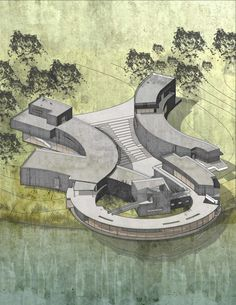 Floating on water | Yue Zhang | Archinect
