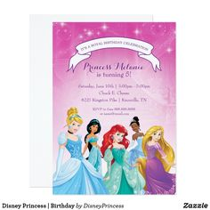 Sleeping Beauty Birthday Invitation Pinterest Disney birthday