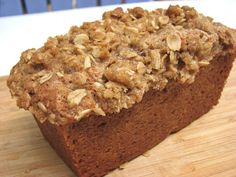 YUM! Zuccini-Banana Bread! Recipe sounds pretty easy too, can't beat that!