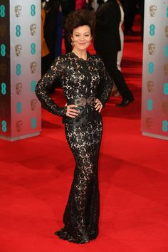 Helen McCrory Photos - Actress Helen McCrory attends the EE British Academy Film Awards 2014 at The Royal Opera House on February 2014 in London, England. British Academy Film Awards, Red Carpet Looks, Photo S, Feminine, Actresses, Formal Dresses, Celebrities, Lady, London England