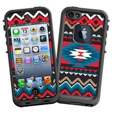 Folk Tribal iPhone 5 lifeproof skin.