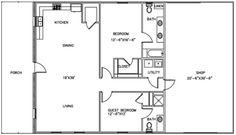 Pole Barn With Living Quarters Plans Sds Plans Complete