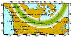 Aurora Forecast | Geophysical Institute    So I don't miss anymore of the Aurora's that have been visible in Nebraska, and I missed them!