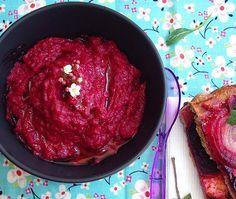 Beetroot Hummus w/ Homemade Tahini paste Tahini Pasta, Homemade Tahini, Dinner Party Invitations, Beet Hummus, Styling A Buffet, Veggie Delight, Beetroot, Vegan Recipes, Vegan Food