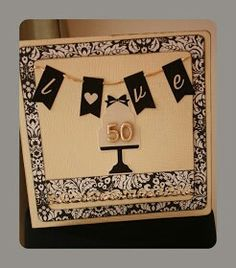 Tarjeta bodas de oro
