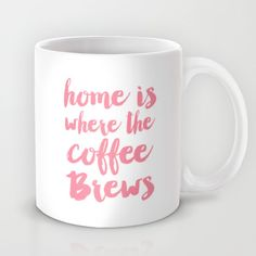 Home is where the coffee brews