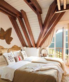 Un refugio de montaña renovado con acierto · ElMueble.com · Casas