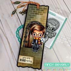 Harry Potter Cards, Distress Oxide Ink, Copics, Ink Pads, Copic Markers, Hello Everyone, Wands, Vintage Photos, Chibi