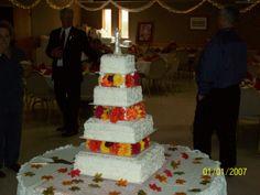 neices wedding cake