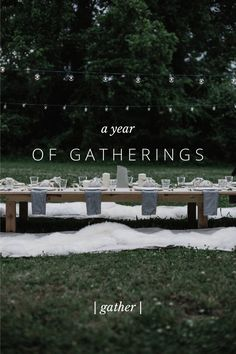 A Year of Gatherings, inspiration & advice on dinners by @localmilk on #steller @stellerstories