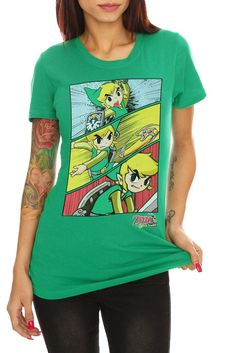 Nintendo The Legend of Zelda: Spirit Tracks Girls T-Shirt