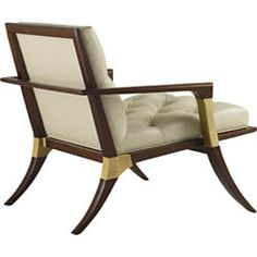 Baker - Athens Lounge Chair - Tufted