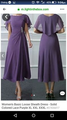 General Vacation Dresses Purple X-line Dress Elegant Polyester Spring Midi Summer S M Short Sleeve L XL XXL Boat Neckline Solid Dress Day Dresses, Dresses Online, Dresses For Sale, Dress Outfits, Short Sleeve Dresses, Vacation Dresses, Dress Clothes, Affordable Dresses, Elegant Dresses