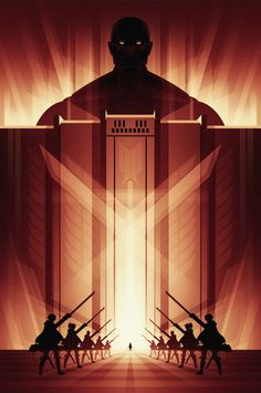 Attack on Titan Poster - Created by Ron GuyattPrints available for sale at the Fabled Creative Shop. You can also follow on Tumblr and Facebook.