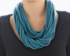 Recycled T-Shirt Necklace Eco-friendly Craft |Sustainable Products | Planet Forward Sustainable products