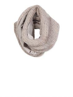 StudioRUIG sjaal van wol en leer. Wil ik heeeel graag.