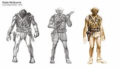 star wars concept art evil characters - Google Search
