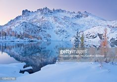 Image result for alpine lake winter