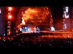 Acojonante el Calderón - highway to hell - Concierto ACDC Madrid 2 junio - YouTube