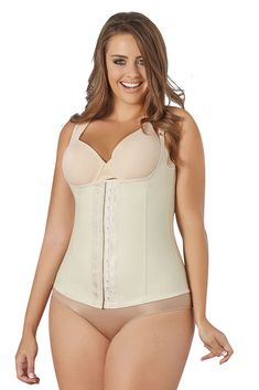 45ccbc314 Cocoon Plus Size Anti-Allergy Waist Trainer Vest ~ Fajas Reductoras to Size  5X