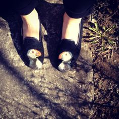 puffin shoes - so cute