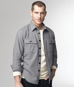 1933 Chamois Cloth Shirt: SHIRTS | Free Shipping at L.L.Bean Signature