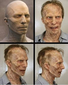 World War Z prosthetic makeup piece sculpted by artist Duncan Jarman (@dunxjar), created for Coulier Creatures. -- #worldwarz #couliercreatures #zombie #zombies #bradpitt #prostheticmakeup #makeup #fxmakeup #makeupfx #sculpt #sculpture #spfx #sfx #walkingdead #prosthetics