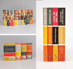 As you can see the spine design is very clever because it portray the book cover and the meaning of the book itself in the spine design therefore you can see why there is 3 blocks of colour different to one another but always having the colour orange.