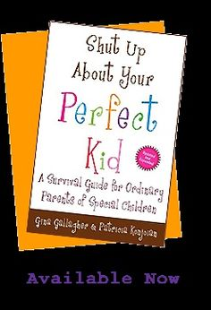 Useful and realistic information to go with the catchy title.   Book whose authors also write a Shut Up About Your Perfect Kid blog , and pinner recommends that as well.   Pinner could have used this book when xx was going through frightening changes that shook their parenting confidence to the core. great-reads-about-mental-illness-and-health