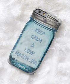 Rustic country Keep Calm and love mason jar Case-Mate iPhone Case / iPhone s case / rustic iPhone cases / afflink Iphone 6 Cases, Keep Calm And Love, Mason Jars, Rustic, Country, Country Primitive, Rural Area, Iphone 6 Skins, Mason Jar