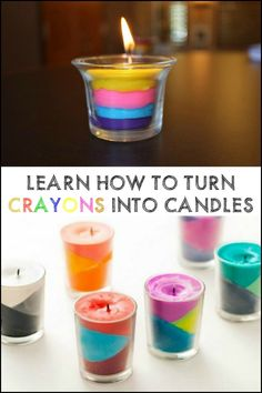 How To Make Candles Out Of Broken Crayons