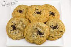 Chocolate Chip Pumpkin Cookies - nach diesem Rezept: http://sallysbakingaddiction.com/2013/09/04/pumpkin-chocolate-chip-cookies/